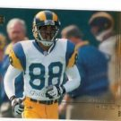 Torry Holt Trading Card 2000 Upper Deck Gold Reserve #136 Rams
