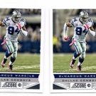 DeMarcus Ware Trading Card Lot of (2) 2013 Score #60 Cowboys