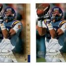 Matthew Hatchett Tradng Card Lot of (2) 2000 UD Gold Resrve #93 Vikings