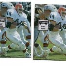 Tommy Vardell Trading Card Lot of (2) 1993 Playoff #15 Browns