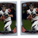 Matt Ryan Trading Card Lot of (2) 2014 Bowman Chrome #33 Falcons