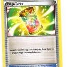 Mega Turbo Uncommon Trainer Trading Card Pokemon XY Roaring Skies 86/108 x1