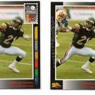 Anthony Greene Trading Card Lot of (2) 1992 Wild Card WLAF #132