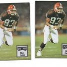 Mark Carrier Trading Card Lot of (2) 1993 Playoff Contenders #55 Bowns NMT