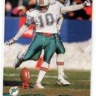 Pete Stoyanovich Trading Card Single 1993 Pro Set #253 Dolphins