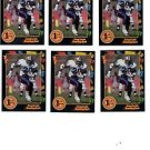 Greg Lewis Trading Card Lot of (6) 1991 Wild Card Draft #68