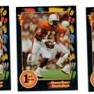 Shawn Moore Trading Card Lot of (3) 1991 Wild Card #24