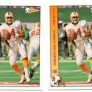 Vinny Testaverde Trading Card Lot of (2) 1992 Pacific #308 Buccaneers