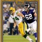 Aaron Kampman Gold Parallel SP 2008 Topps #211 Packers 0232/2008