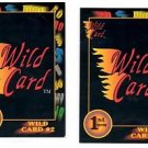 Wild Card #2 Trading Card Lot of (2) 1991 Wild Card Draft #15