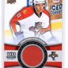 Jonathan Huberdeau Game Jersey Insert 2015-16 Upper Deck Series 1 #GJHU Panthers