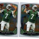 Geno Smith Trading Card Lot of (2) 2014 Bowman Chrome #26 Jets