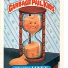 Grainy Janey Sticker Trading Card 1987 Topps Garbage Pail Kids #314B