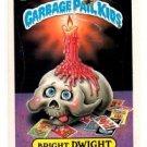 Bright Dwight Sticker Trading Card 1987 Topps Garbage Pail Kids #328B