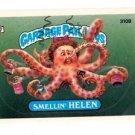Smellin Helen Sticker Trading Card 1987 Topps Garbage Pail Kids #310B
