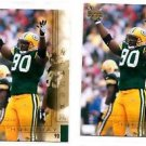 Vonnie Holliday Tradng Card Single 2000 UD Gold Reserve #62 Packers