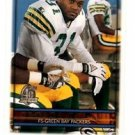 George Teague Trading Card Single 1996 Topps #351 Packers