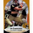 Jim Dombrowski Trading Card Single 1990 Fleer 185 Saints