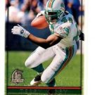 Terry Kirby Trading Card Single 1996 Topps #105 Dolphins