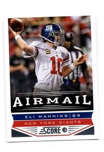 Eli Manning Airmail Trading Card Single 2013 Score #241 Giants