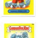 Bubble Bobby & Popped Pollux 2014 Topps Garbage Pail Kids #89a & #89b
