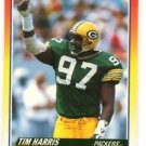 Tim Harris Trading Card 1990 Score #265 Packers