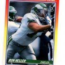 Ron Heller Trading Card 1990 Score #248 Eagles