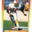 Harry Hamilton Trading Card Single 1990 Score #259 Buccaneers