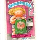 Terri Cloth Sticker Trading Card 1986 Topps Garbage Pail Kids #169B
