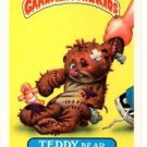 Teddy Bear Sticker Trading Card 1986 Topps Garbage Pail Kids #164a