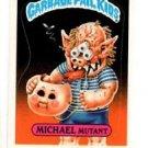 Michael Mutant Sticker Trading Card 1986 Topps Garbage Pail Kids 201a