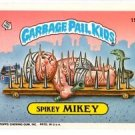 Spikey MIckey Sticker Trading Card 1986 Topps Garbage Pail Kids #155a