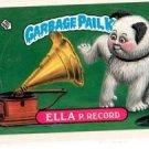 Ella P Record Trading Card 1987 Topps Garbage Pail Kids #308B