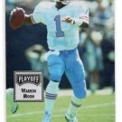 Warren Moon Trading Card Single 1993 Playoff Contenders #57 Oilers NMT
