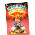 Blasted Billy License Back Sticker Original 1985 Topps Garbage Pail Kids UK #8b