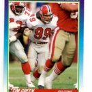 Tim Green RC Trading Card Single 1989 Score #206 Falcons