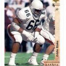 Eddie Blake RC Tradng Card Single 1992 Upper Deck #3 Dolphins SR