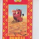 Pumbaa Popup Chase Card Skybox Lion King #P7
