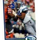 Jacob Green Trading Card 1991 Upper Deck #336 Seahawks