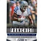 DeMarco Murray Future Franchise Trading Card Single 2013 Score #307 Cowboys