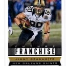 Jimmy Graham Future Franchise Trading Card Single 2013 Score #318 Saints