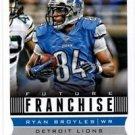 Ryan Broyles Future Franchise Trading Card Single 2013 Score #309 Lions