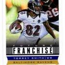 Torrey Smith Future Franchise Trading Card Single 2013 Score #301 Ravens