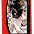 Dexter Fowler RC Red Thick Parallel SP 2009 Topps Unqiue #159 Rockies 0966/1199