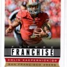 Colin Kaepernick Future Franchise Trading Card Single 2013 Score #320 49ers