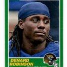 Denard Robinson RC Trading Card Single 2013 Score #358 Jaguars