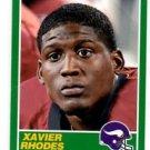 Xavier Rhodes RC Trading Card Single 2013 Score #437 Vikings