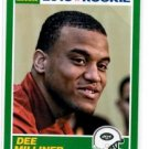 Dee Milner RC Trading Card Single 2013 Score #357 Jets