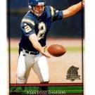 Darren Bennett Trading Card Single 1996 Topps #337 Chargers
