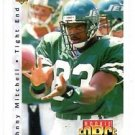 Johnny Mitchell RC Trading Card 1992 Upper Deck #417 Jets RF
